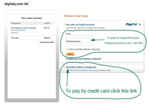paypal payment guide